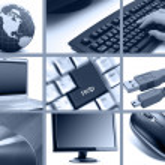 Communications and technology theme — Stock Photo