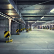 Underground parking - Foto Stock