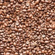 Seamless coffee background texture — Stock Photo