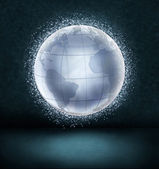 Glowing globe — Stockfoto