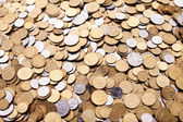 Coins background — Foto de Stock