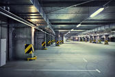 Underground parking — Foto Stock