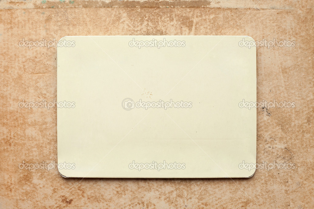Vintage card on old grunge paper background  — Stock Photo #6479334