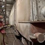 ������, ������: Train repairs