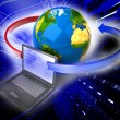Global network the Internet — Stockfoto