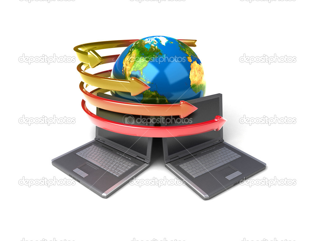 Global network the Internet — Stock Photo #6263708
