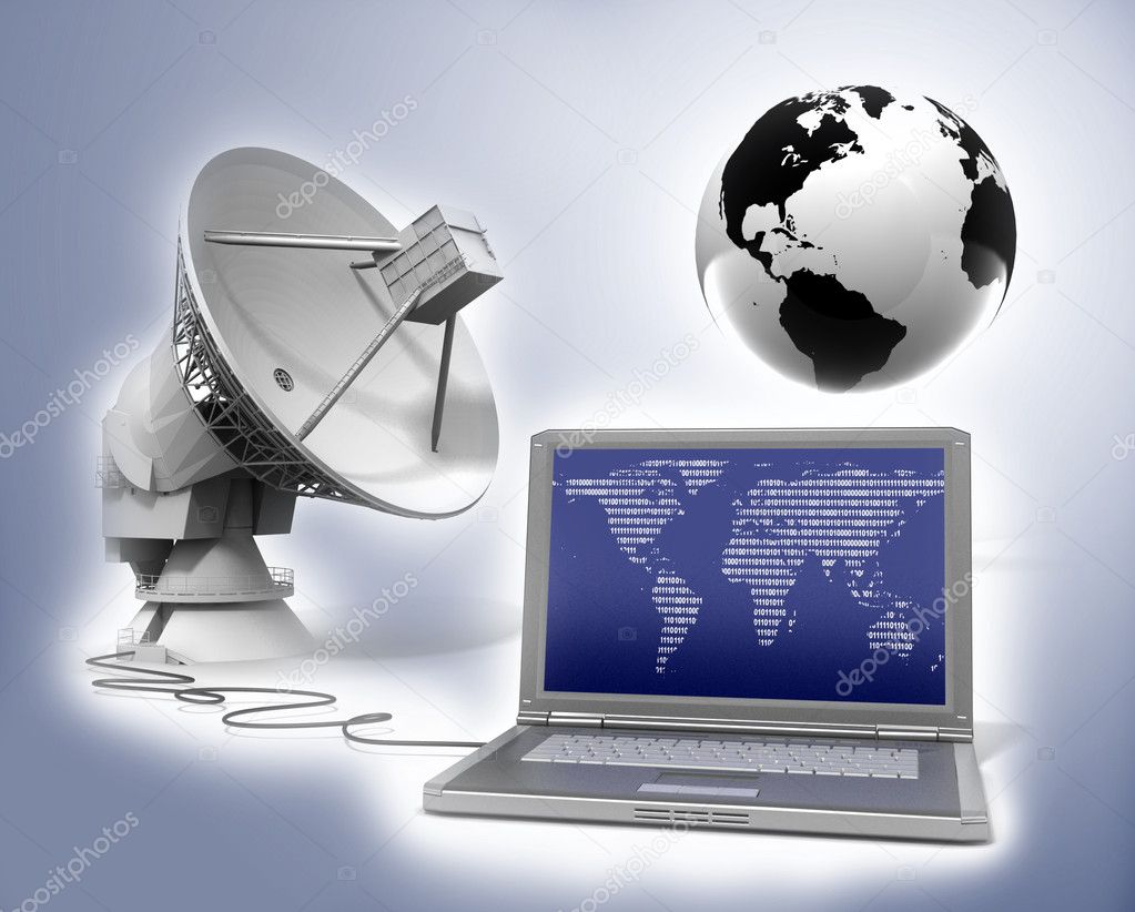 Global communication  Stock Photo #6264594