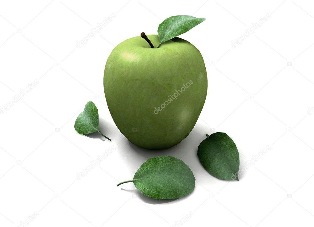 Apple of the appetite — Stock Photo #6266437