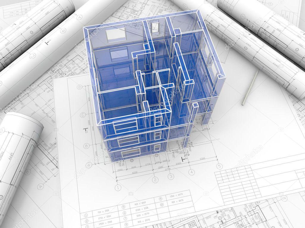 Как сделать макет промышленного здания