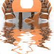 Conference table — Stock Photo #6272638
