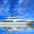 Luxury Yacht - Stock Photo