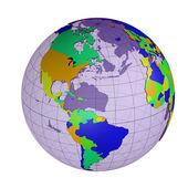 惑星の地球 — ストック写真