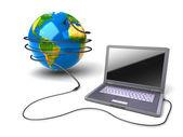 Global communication — Stock Photo