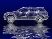 Modelo del coche — Foto de Stock