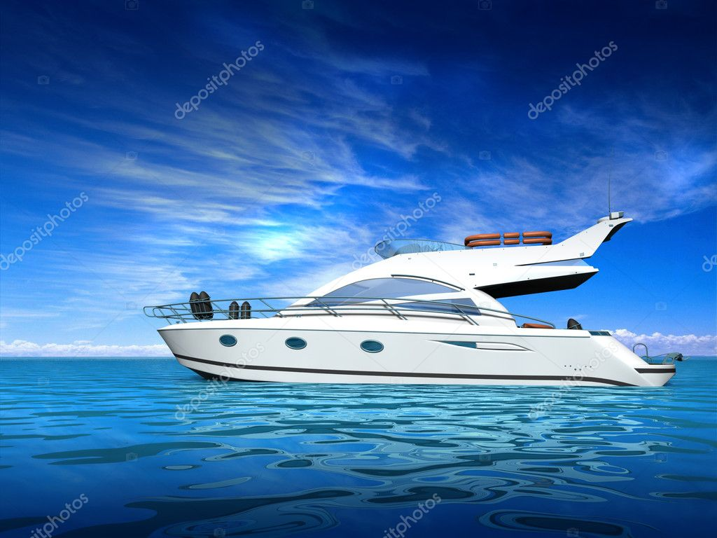 Luxury yacht — Stock Photo #6270925