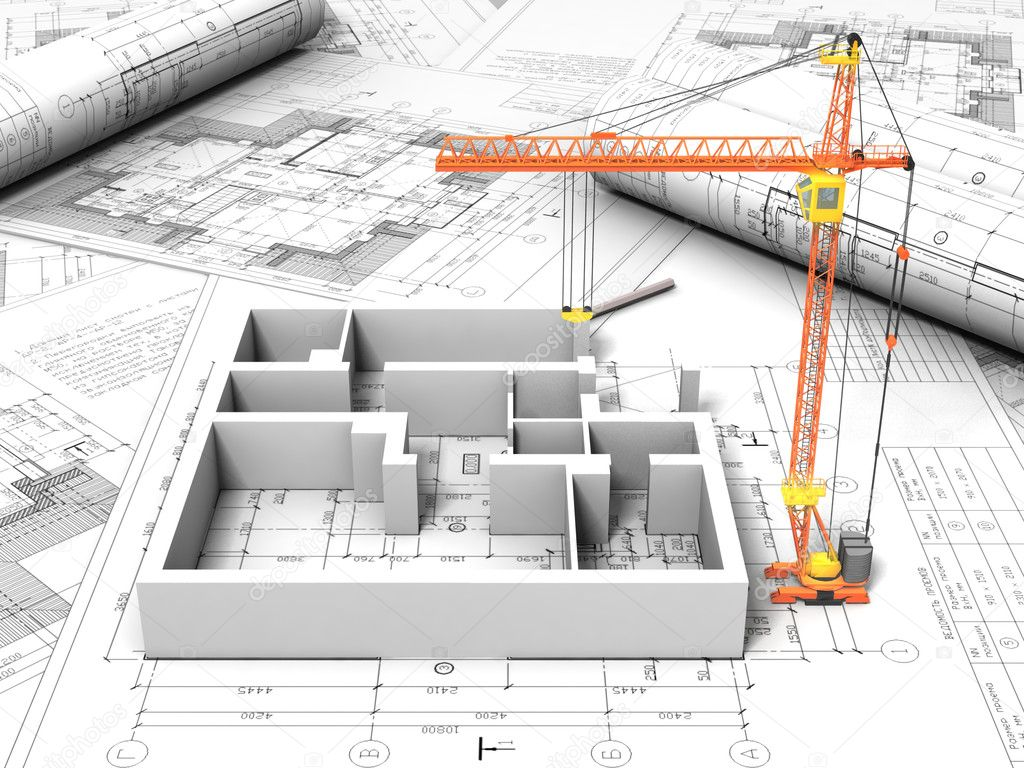 3d plan drawing stock photo archmanstocker 6272120 for 3d plan drawing