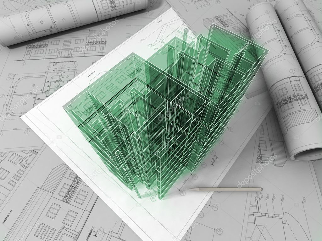 3d plan drawing stock photo archmanstocker 6272757 for 3d plan drawing