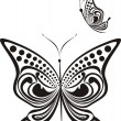 Stock Vector: Fancy butterfly