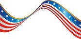 USA National flag — Stock Vector