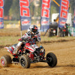 Stock Photo: Quad race