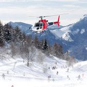 Elicottero del soccorso alpino — Stock Photo