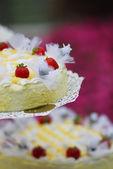 Huwelijkse taart — Stockfoto
