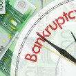 Euro banknotes background — Stock Photo #6408970