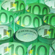 Green money background — Stock Photo