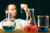 Chemistry research concept — Stock Photo