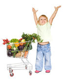 Healthy food concept — Stock Photo