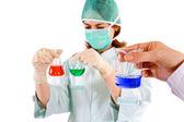 Concetto di ricerca chimica — Foto Stock