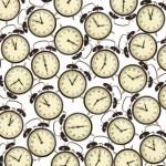 Fondo de fondo reloj despertador — Foto de Stock
