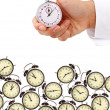 Stock Photo: Time management