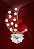Time management system - out of the box — Stock Photo