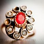 Vintage jewel — Stock Photo