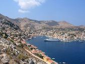 The Greek island of Simy — Stock Photo