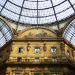 Exclusive shopping gallery in Milan Italy — Stock Photo
