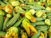 Pile of Zucchinis — Stock Photo