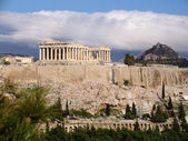 The Parthenon on the Acropolis — Stock Photo