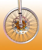 Roue de bicyclette — Photo