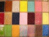 Färgglada pärlor — Stockfoto