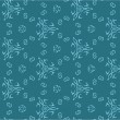 Vector seamless vintage background. Pattern. — Stockvektor
