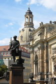 Dresden urban scenics — Stock Photo