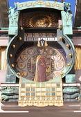 Anker clock in Vienna (Austria) — Stock Photo