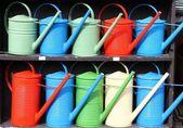 Regadores coloridos — Foto Stock
