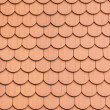 Red roof clay tiles — Stock Photo