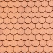 Red roof clay tiles - Stock Photo