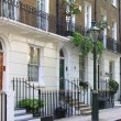 Townshouses in london — Lizenzfreies Foto