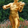 Stock Photo: Johann Strauss statue