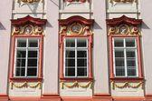 ренессанс windows — Стоковое фото